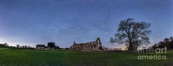 Photograph - Milky Way In Bolton Abbey by Mariusz Talarek