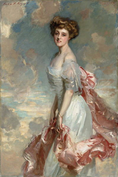 Camomile Painting - Miss Mathilde Townsend by John Singer Sargent
