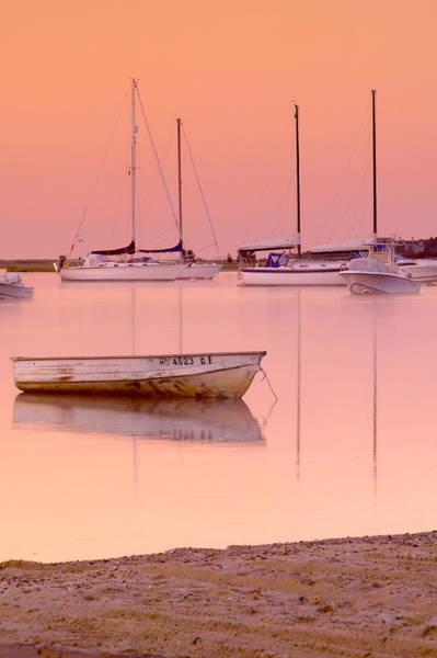 Powerboat Photograph - Misty Morning Osterville Cape Cod by Matt Suess