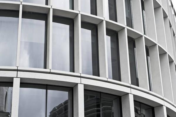 Wall Art - Photograph - Modern Office Building by Tom Gowanlock