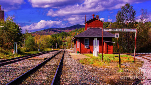 Photograph - Montpelier Jct Vermont by Scenic Vermont Photography