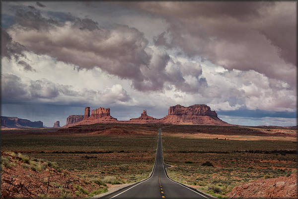Photograph - Monument Valley by Erika Fawcett