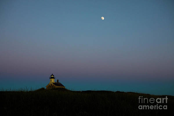 Wall Art - Photograph - Moon Over The North Light by Diane Diederich