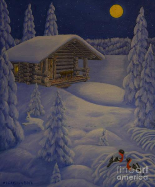 Wall Art - Painting - Moonlight by Veikko Suikkanen