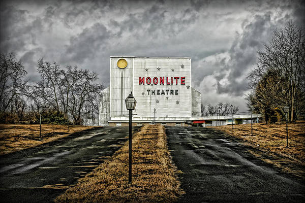 Photograph - Moonlite Theatre by Patricia Montgomery