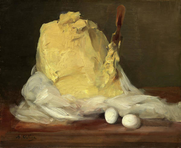 Painting - Mound Of Butter by Antoine Vollon