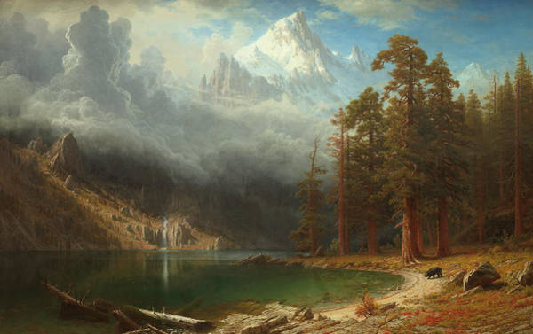 Painting - Mount Corcoran by Albert Bierstadt