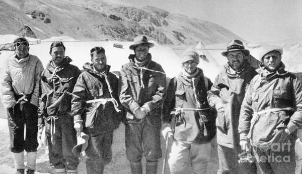 Photograph - Mount Everest Expedition by Granger
