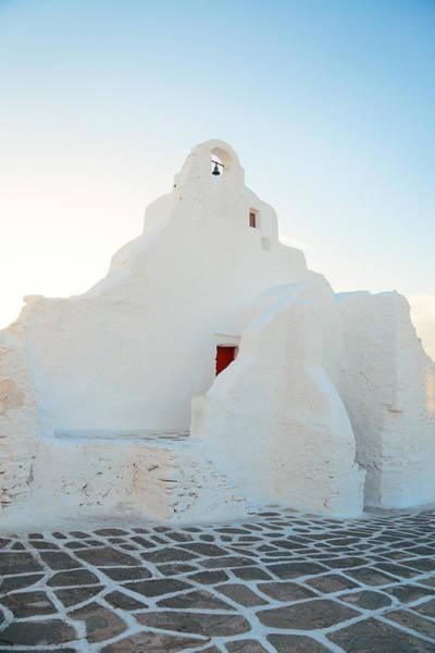 Photograph - Mykonos Church Of Panagia Paraportiani by Songquan Deng