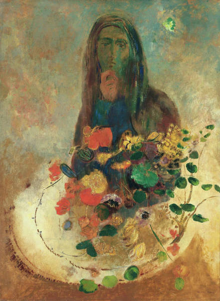 Painting - Mystery by Odilon Redon