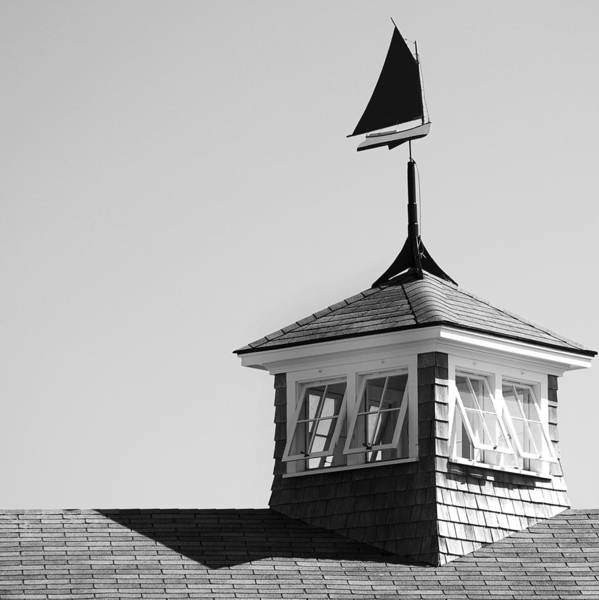 Nantucket Photograph - Nantucket Weather Vane by Charles Harden