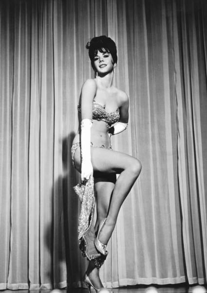 Sultry Photograph - Natalie Wood by American School