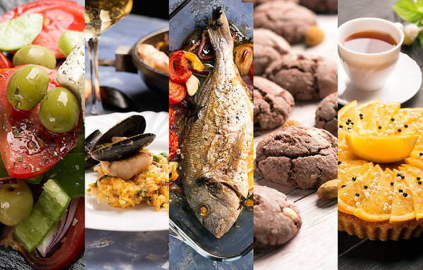 Duck Meat Photograph - Natural Food. Photo Collage.  by Vadim Goodwill