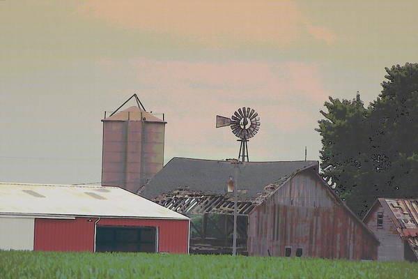 Photograph - Nebraska Farm Life - The Farm by Colleen Cornelius