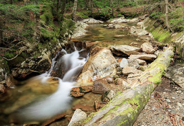 Photograph - New England Waterfall by Kyle Lee