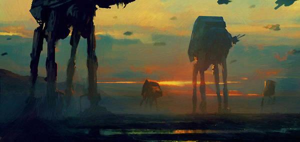 R2-d2 Digital Art - New Star Wars Art by Larry Jones