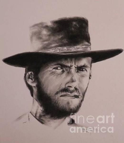 Clint Eastwood Drawing - New Upload by Rebecca Graham