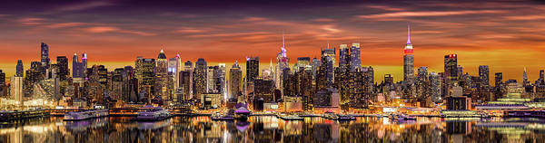 Photograph - New York City Panorama by Mihai Andritoiu
