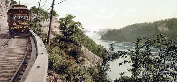 Photograph - Niagara River, C1900. by Granger