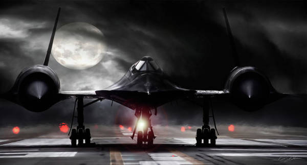 Supersonic Speed Wall Art - Digital Art - Night Moves by Peter Chilelli