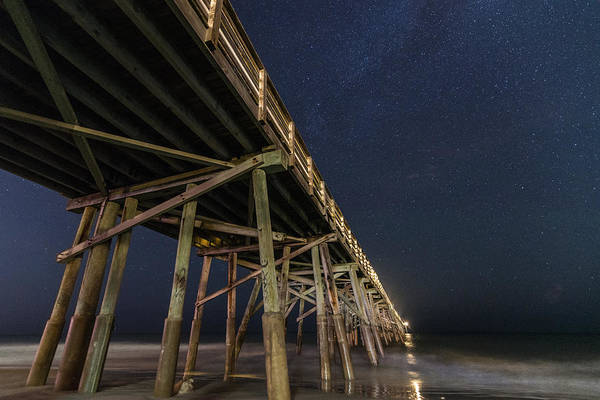 Flagler Beach Photograph - Night Pier by Kristopher Schoenleber