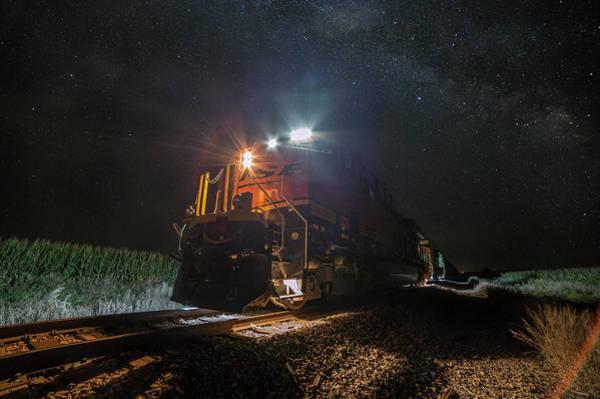 Photograph - Night Train  by Aaron J Groen