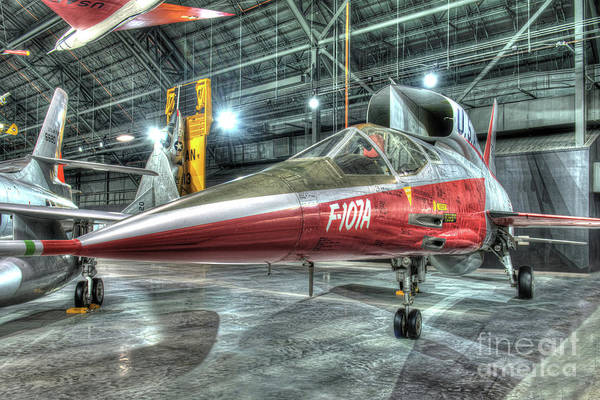 Wall Art - Photograph - North American, F-107, Prototype by Greg Hager