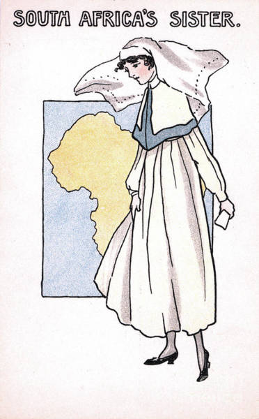 Drawing - Nurse, 1918.  - To License For Professional Use Visit Granger.com by Granger