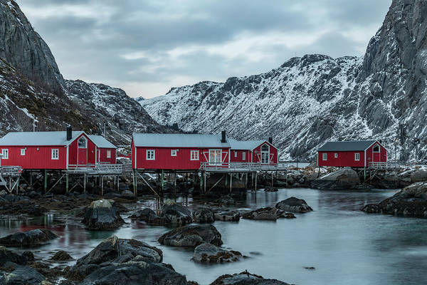 Berge Wall Art - Photograph - Nusfjord, Lofoten - Norway by Joana Kruse
