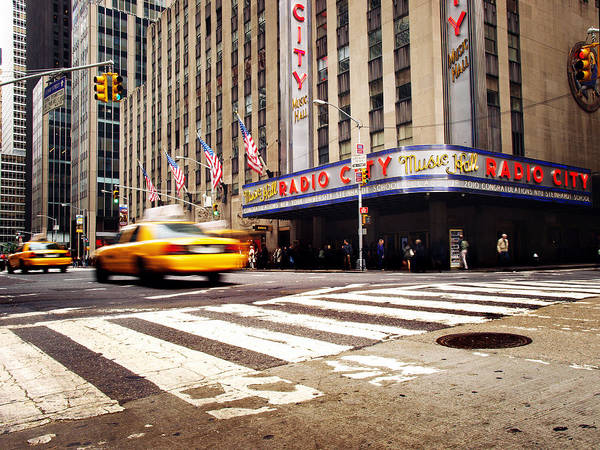 Wall Art - Photograph - Nyc Radio City Music Hall by Nina Papiorek