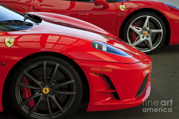 458 Photograph - 2 Of A Kind by Dennis Hedberg