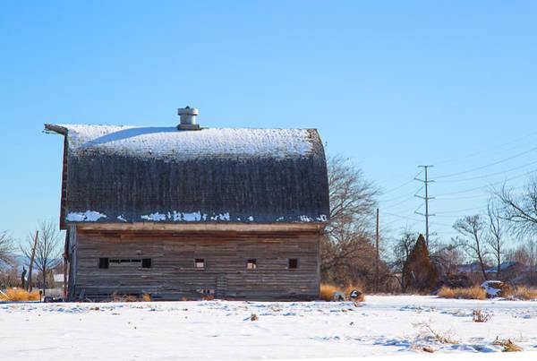 Photograph - Old Barn In Idaho by Dart Humeston