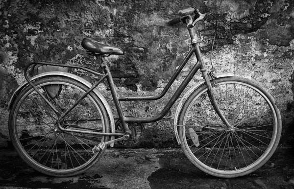 Cabildo Wall Art - Photograph - Old Bike by Hans Wolfgang Muller Leg