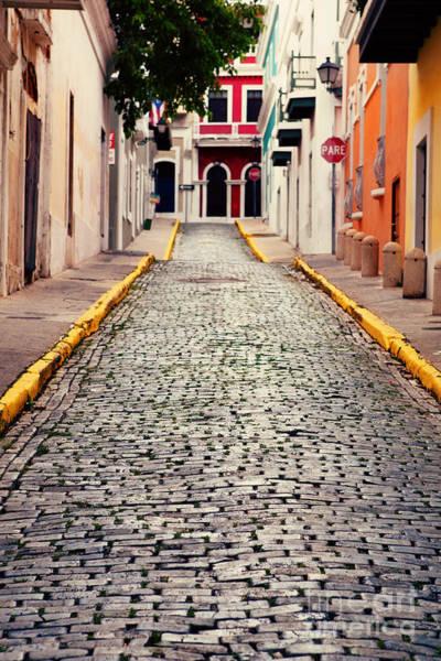 Cute Photograph - Old San Juan Puerto Rico by Kim Fearheiley