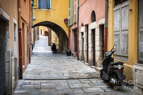 Photograph - Old Town In Villefranche-sur-mer by Elena Elisseeva