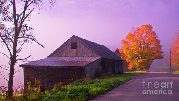 Photograph - On The Back Roads Of Vermont by Scenic Vermont Photography