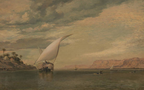 Nile Painting - On The Nile by Edward William Cooke