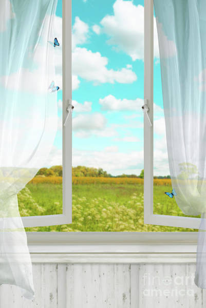 Wall Art - Photograph - Open Country Window by Amanda Elwell
