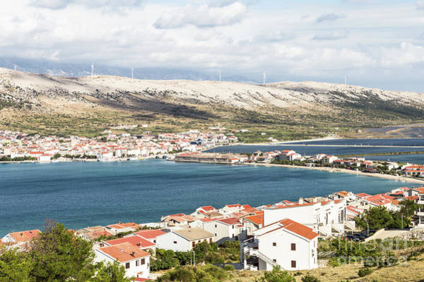 Photograph - Pag Old Town In Croatia by Didier Marti