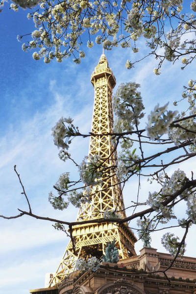 Photograph - Paris Las Vegas by Tatiana Travelways