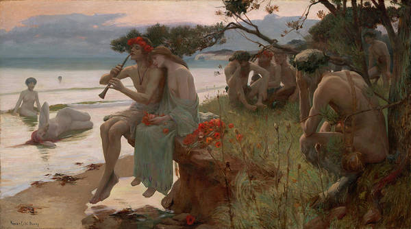 Fife Painting - Pastoral by Rupert Bunny
