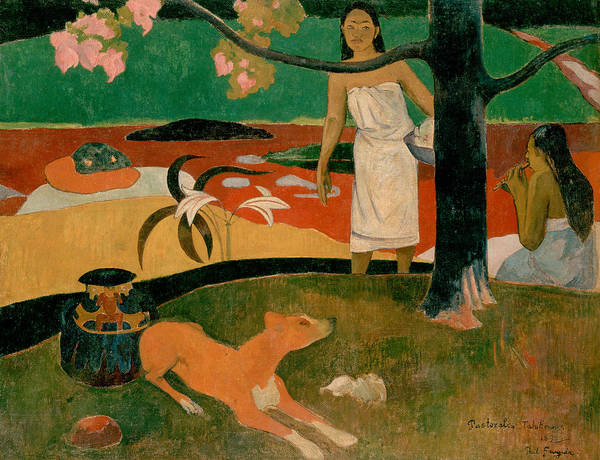 Painting - Pastorales Tahitiennes by Paul Gauguin
