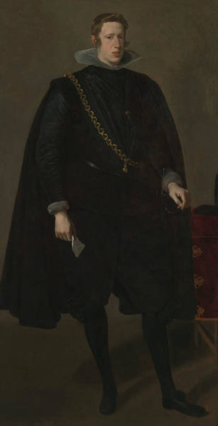 Velazquez Wall Art - Painting - Philip Iv, King Of Spain by Diego Velazquez