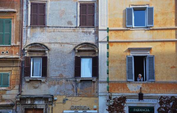 Photograph - Piazza In Trastevere by JAMART Photography