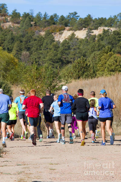 Photograph - Pikes Peak Road Runners Fall Series IIi Race by Steve Krull