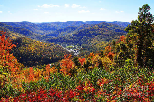 Allegheny Mountains Wall Art - Photograph - Point Mountain Overlook by Thomas R Fletcher