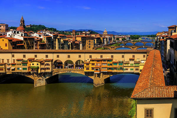Wall Art - Photograph - Ponte Vecchio by Andrew Soundarajan