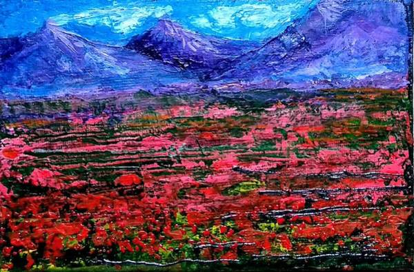 Painting - Poppy Fields by Asha Sudhaker Shenoy