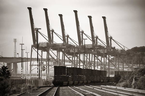 Photograph - Port Of Seattle by Songquan Deng