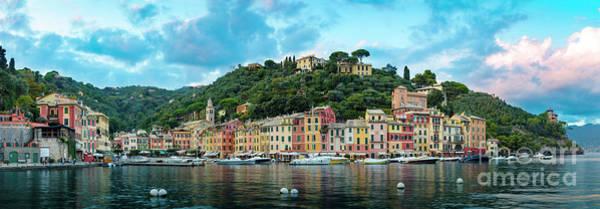 Photograph - Portofino Panoramic by Brian Jannsen